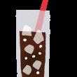 コーラに氷